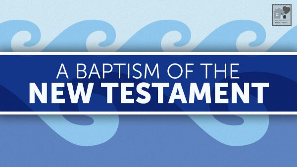 A Baptism in the New Testament