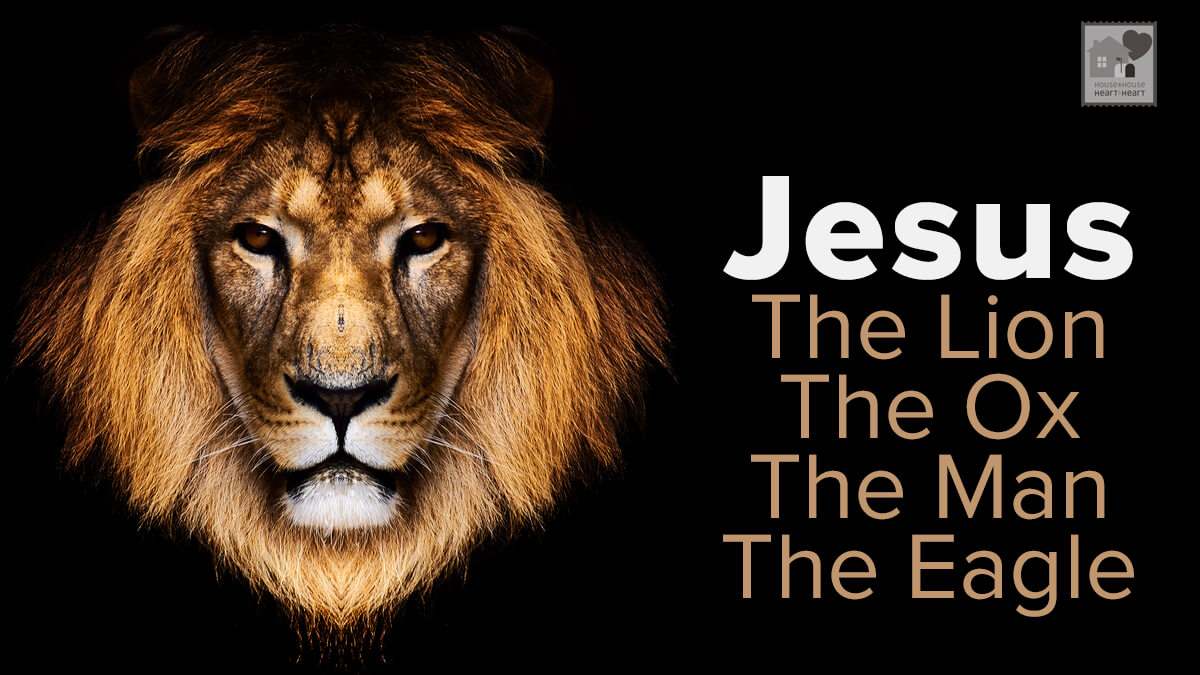 Jesus the lion the ox the man and the eagle house to house jesus the lion the ox the man and the eagle buycottarizona