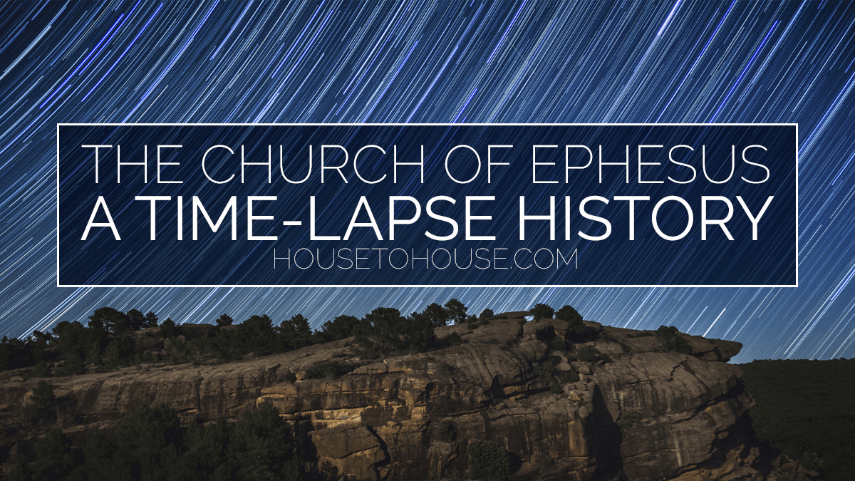 The History Of The Church Of Ephesus In Time Lapse Photography