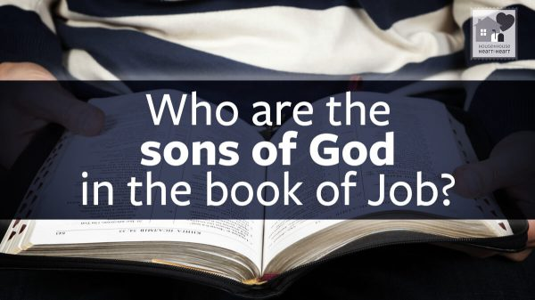 Who are the sons of God in the book of Job?