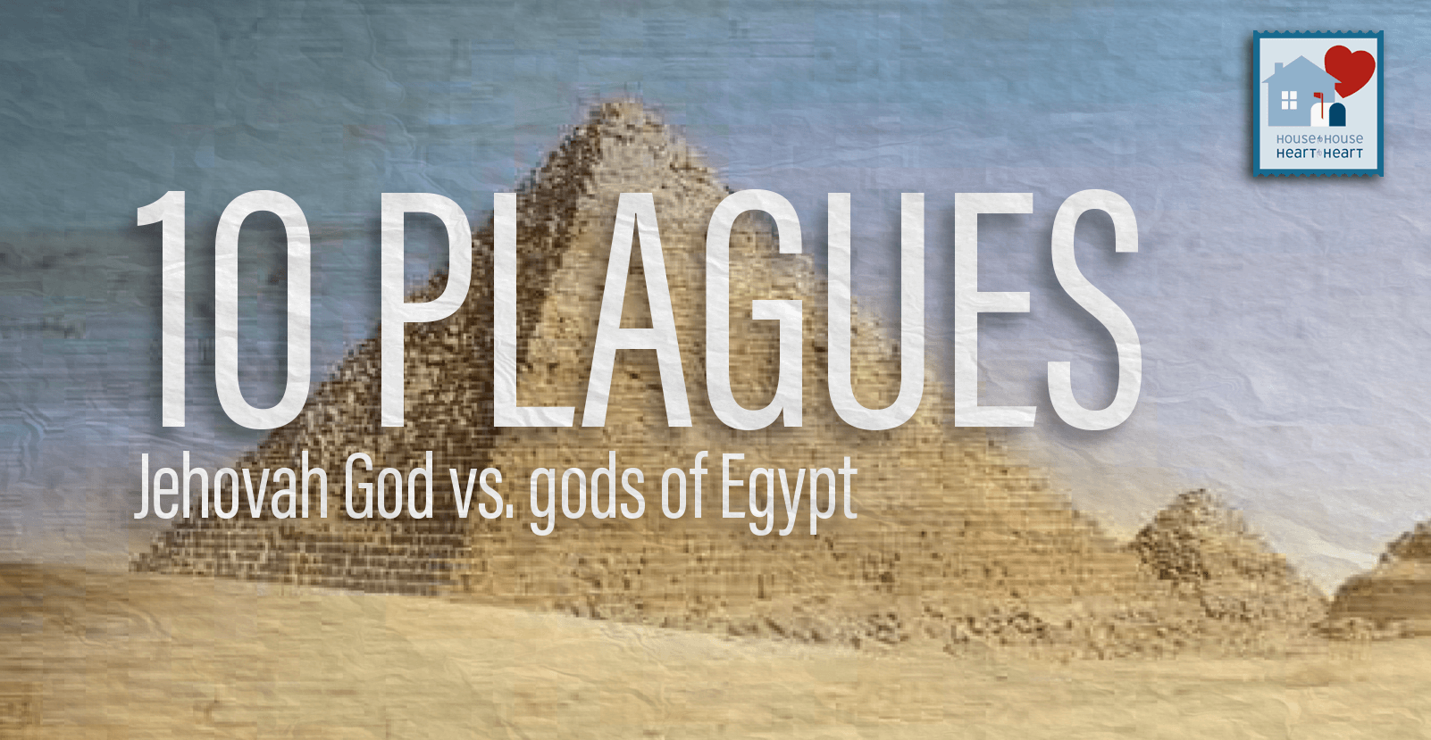 10 Plagues: Jehovah God vs  the gods of Egypt (info graphic